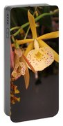 Gold Yellow Orchid  Portable Battery Charger