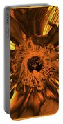 Golden Anemone Portable Battery Charger