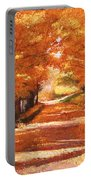 Golden Autumn Portable Battery Charger