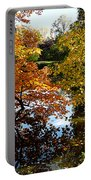 Golden Autumn Trees Portable Battery Charger