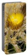 Golden Barrel Blossom Portable Battery Charger