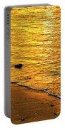 Golden Beach Sunset Portable Battery Charger