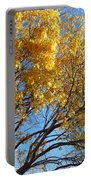 Golden Boughs Portable Battery Charger