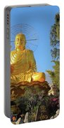Golden Buddha In Vietnam Dalat Portable Battery Charger