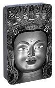 Golden Buddha Monochrome Portable Battery Charger