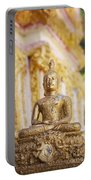 Golden Buddha Ornament Portable Battery Charger