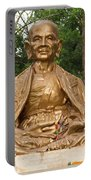 Golden Buddhist Monk Portable Battery Charger