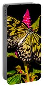 Golden Butterfly Portable Battery Charger