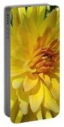 Golden Dahlia Beauty Portable Battery Charger