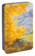 Golden California Sycamores Portable Battery Charger