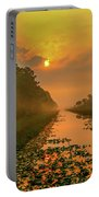 Golden Canal Morning Portable Battery Charger