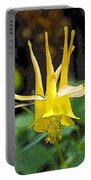 Golden Columbine Portable Battery Charger