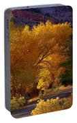 Golden Cottonwoods Portable Battery Charger