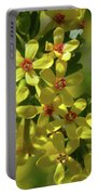 Golden Currant Blossoms Portable Battery Charger