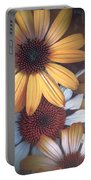 Golden Daisies Portable Battery Charger
