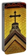 Golden Dome Notre Dame Portable Battery Charger