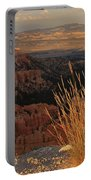 Golden Evening Light Bryce Canyon 1 Portable Battery Charger