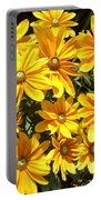 Golden Eyed Susans Portable Battery Charger