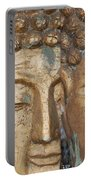 Golden Faces Of Buddha Portable Battery Charger