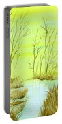 Golden Fall Day  Portable Battery Charger