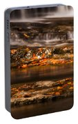 Golden Falls Portable Battery Charger