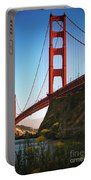 Golden Gate Bridge Sausalito Portable Battery Charger by Doug Sturgess