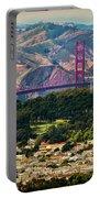 Golden Gate Bridge - Twin Peaks Portable Battery Charger