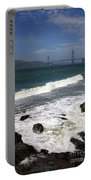Golden Gate Bridge With Surf Portable Battery Charger