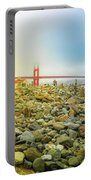 Golden Gate Stone Sculptures Portable Battery Charger