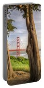 The Trees Of The Golden Gate Portable Battery Charger