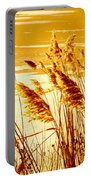 Golden Grasses Portable Battery Charger