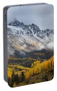 Mount Sneffles San Juan Mountains Fall Colors Portable Battery Charger