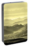 Golden Hills Of The Tonto Portable Battery Charger
