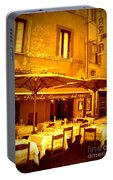 Golden Italian Cafe Portable Battery Charger