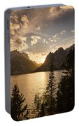 Golden Jenny Lake View Portable Battery Charger