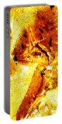 Golden Kimono Portable Battery Charger