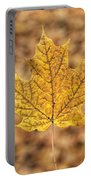 Golden Maple Leaf Portable Battery Charger