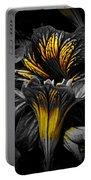 Golden Paintbrush  Portable Battery Charger