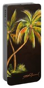 Golden Palms 2 Portable Battery Charger