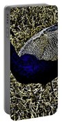 Golden Peacock Portable Battery Charger