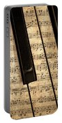 Golden Pianoforte Classic Portable Battery Charger