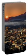 Golden Portland Morning Portable Battery Charger