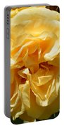 Golden Rose Swirl Portable Battery Charger