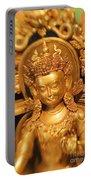 Golden Sculpture Portable Battery Charger