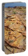 Golden Slopes Of Valley Of Fire State Park Portable Battery Charger
