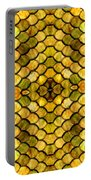 Golden Stained Glass Portable Battery Charger