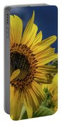 Golden Sunflower Portable Battery Charger