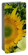 Golden Sunflower Yellow Bouquet By Kaye Menner Portable Battery Charger