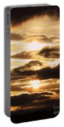 Golden Sunset Portable Battery Charger