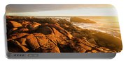 Golden Sunset Coast Portable Battery Charger
